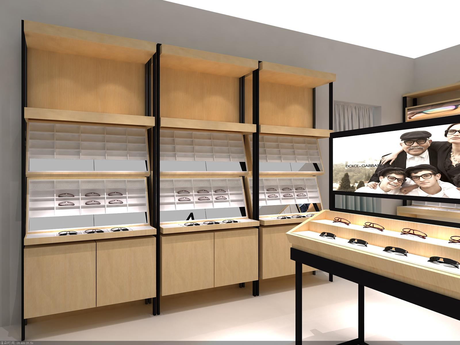 Optical Shop Eyewear Display