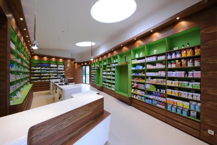 Medical Shop Interior Design OY-PSD008