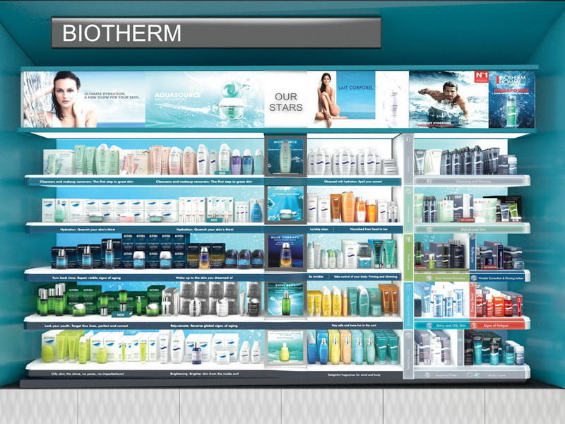 Cosmetic Shop Counter Design OY-COSD001