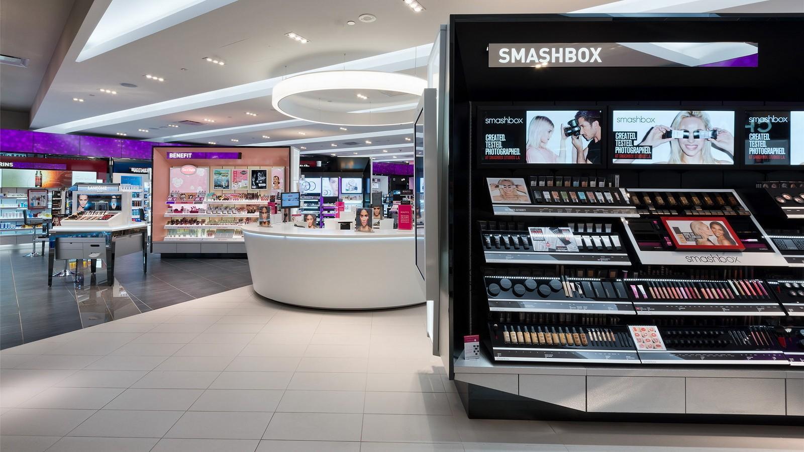 shop interior design vanity cosmetic shop OUYEE