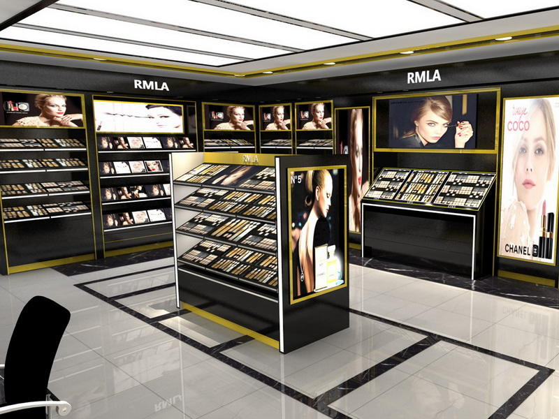 Custom Cosmetic Store Display OY-COSD005