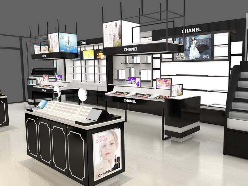Retail Cosmetic Shop Furniture Design OY-COSD006