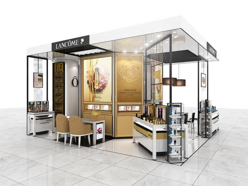 Shop Design Display Cosmetic Kiosk OY-COSD008