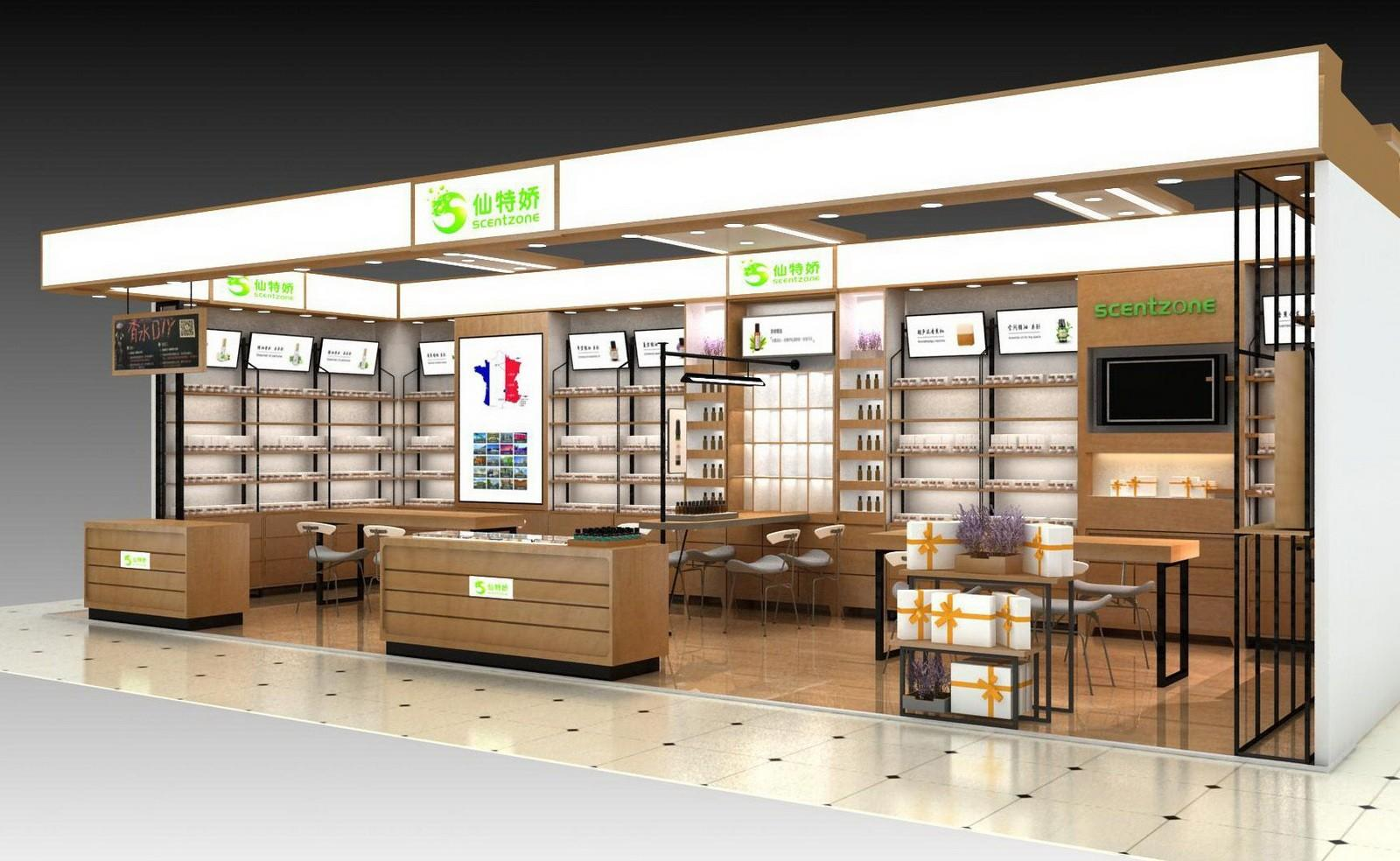 Wholesale design cosmetic shop OUYEE Brand