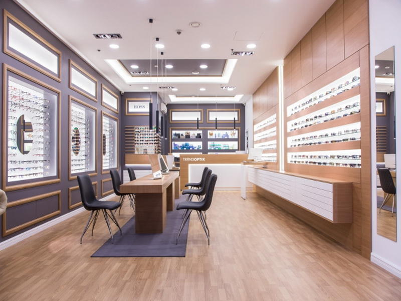 Glasses Shop Interior Design Optical Display Ideas OY-OSD002
