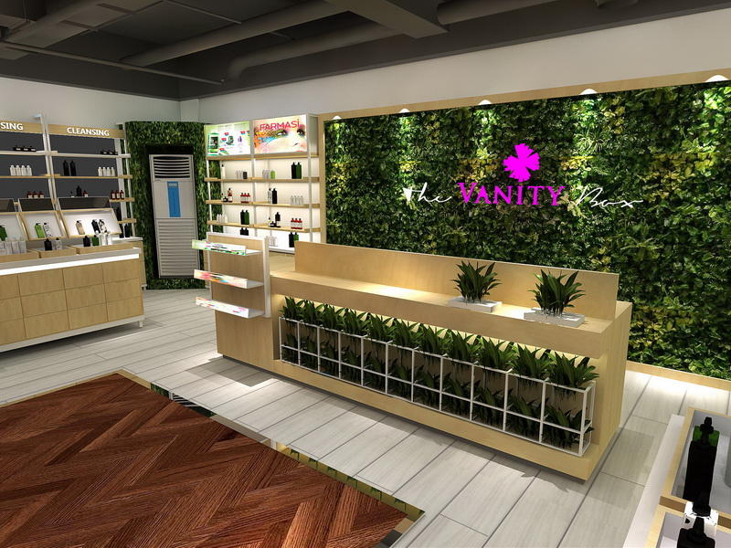 Store Design Cosmetic Shop Furniture OY-COSD016