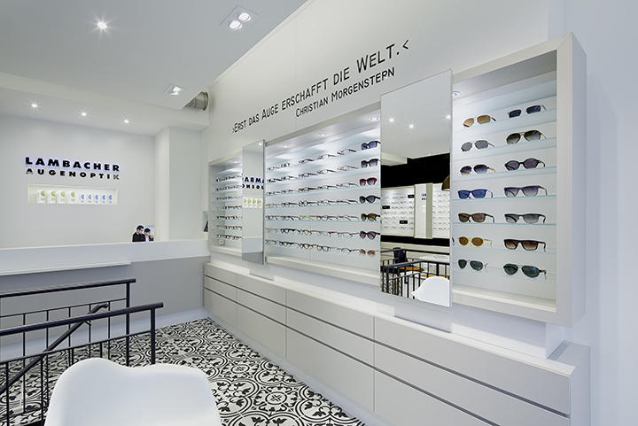 OUYEE Brand shop interior optical displays manufacture