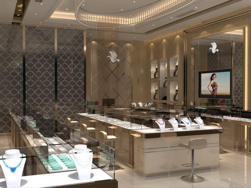 Jewellery Showroom Furniture Design OY -JWSD013
