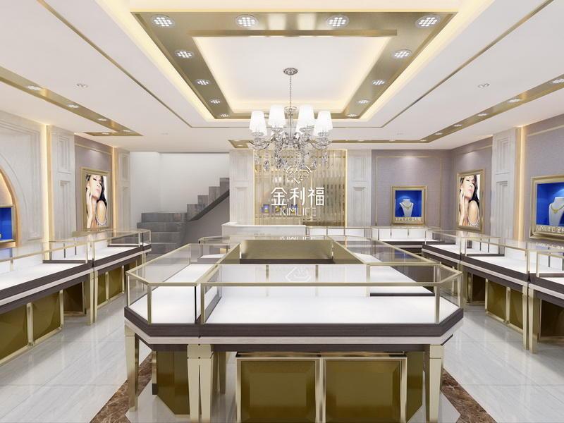 Jewellery Showcase Design OY-JWSD014