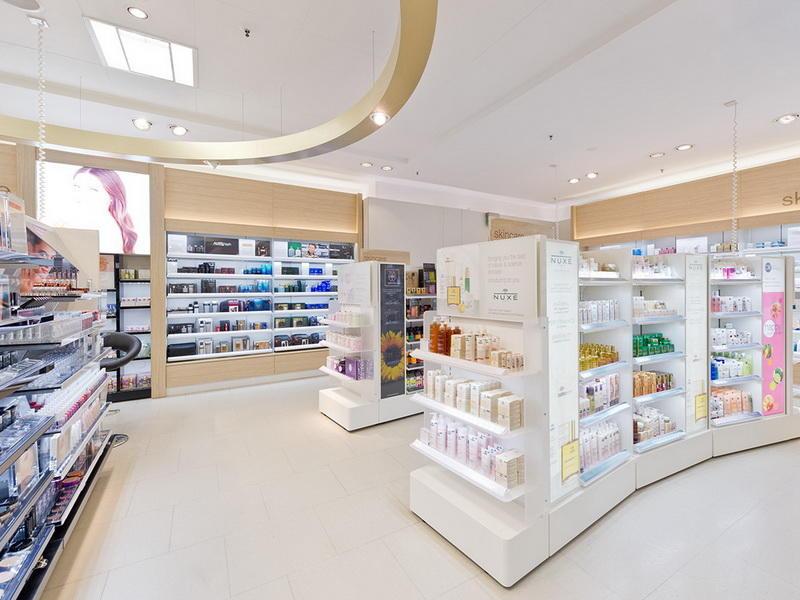 Interior Showroom Cosmetic Shop Design OY-COSD018