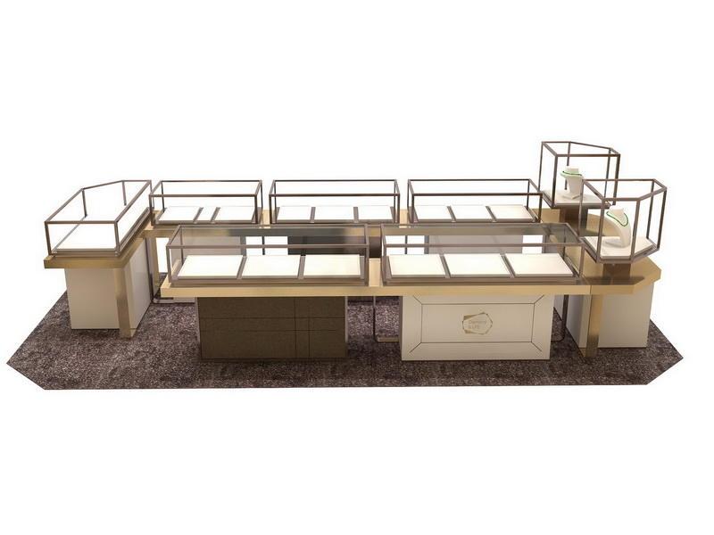 Large Jewelry Display Case OY-JWSD018