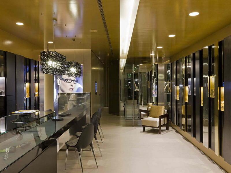 Optical Store Design Showcase Eyewear Display OY-OSD008