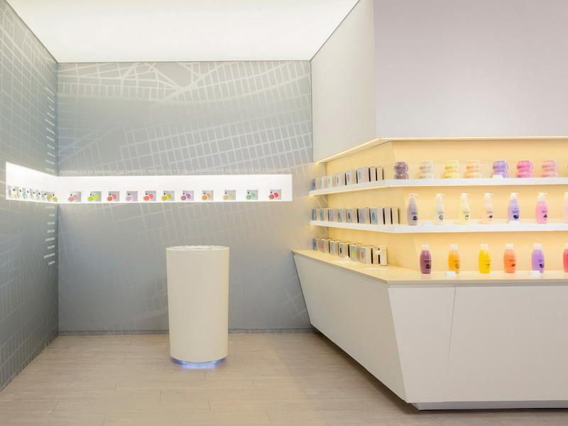 Cosmetic Store Furniture Display OY-COSD021