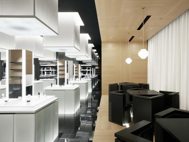 Cosmetic Showroom Design OY-COSD028