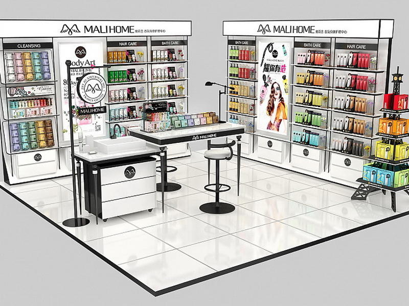 Cosmetic Shop Furniture Design Display OY-COSD029