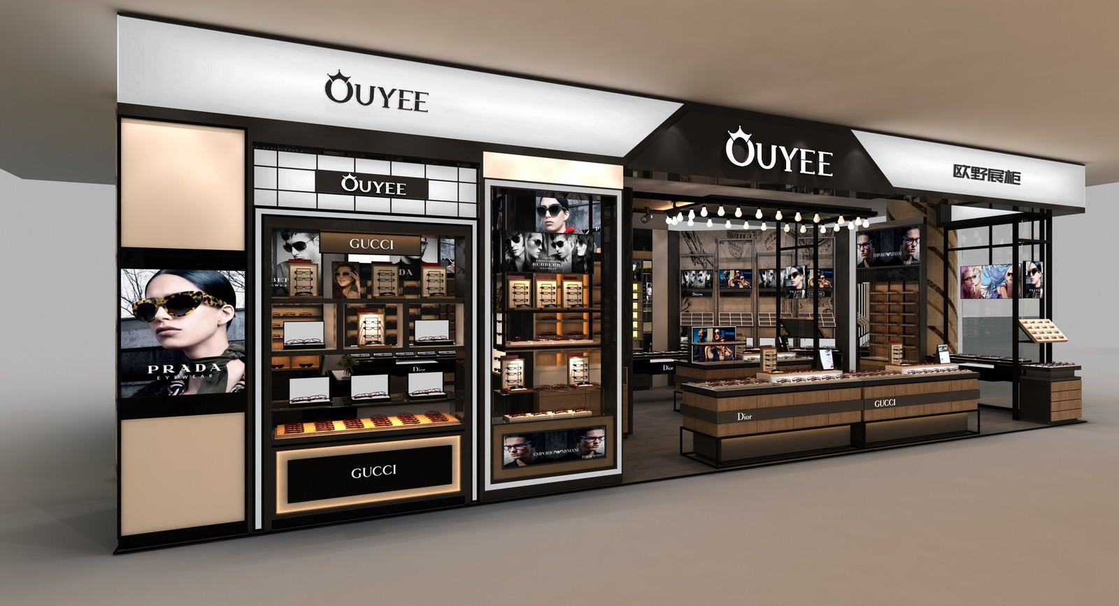 optical display units high quality for store OUYEE-4