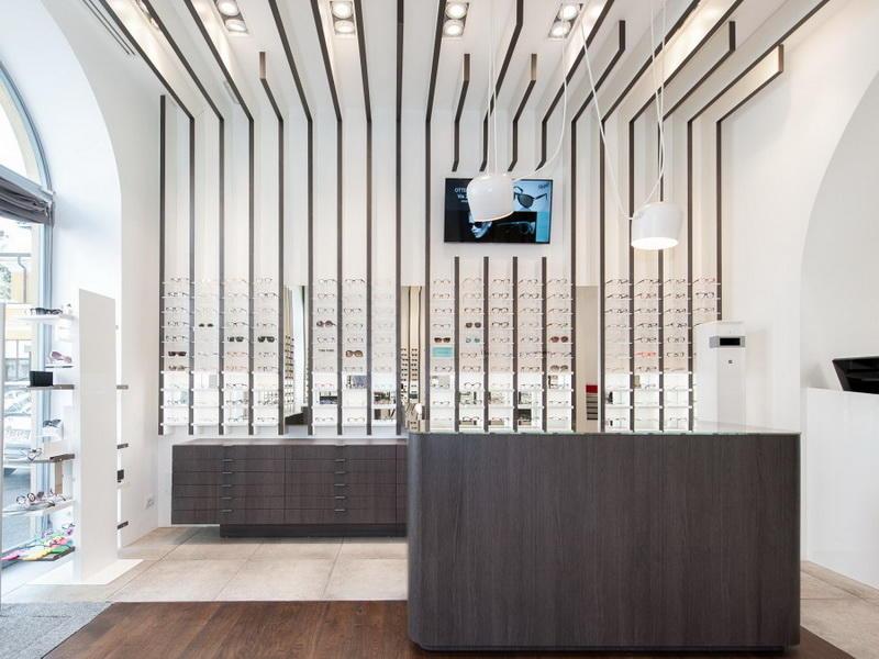 Eyeglasses Display Shelves Optical Showcase OY-OSD025