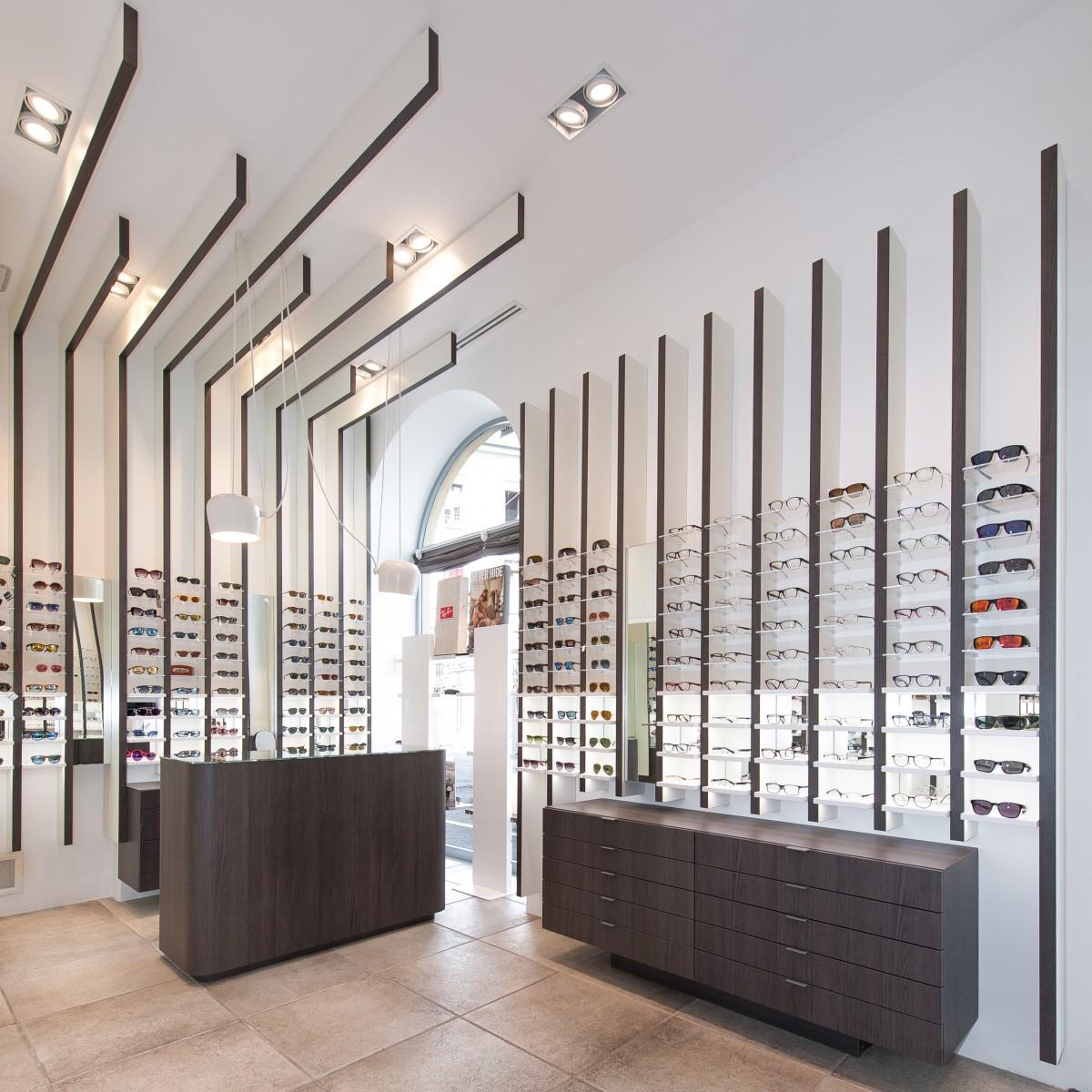 OUYEE wooden acrylic eyewear displays for wholesale for shop-5