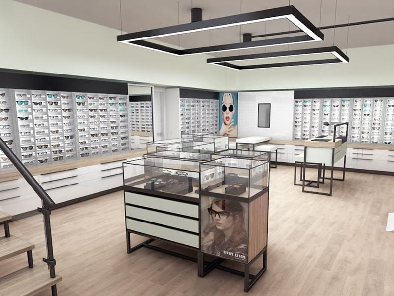 Store Design Optical Shop Display OY-OSD028