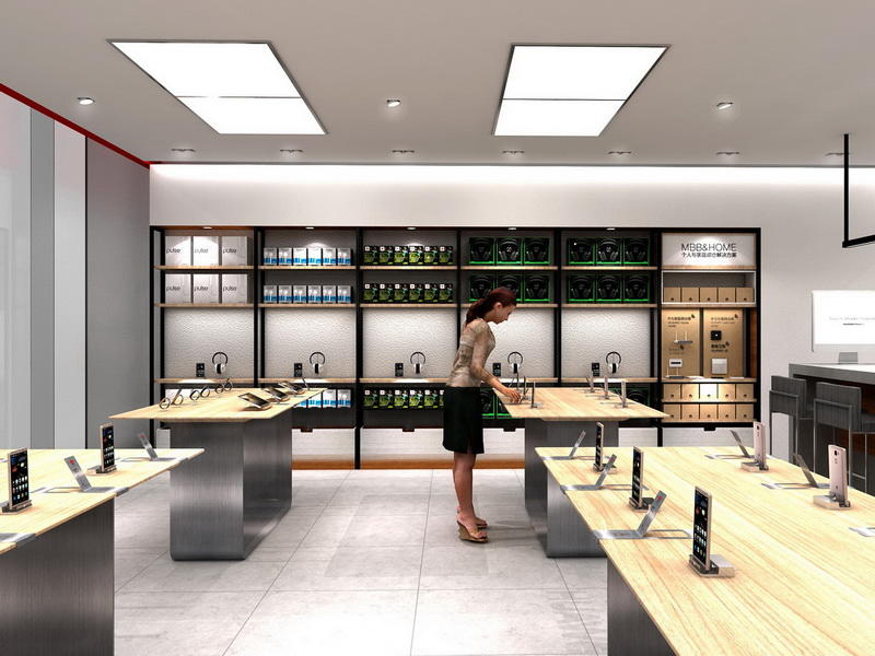 Mobile Shop Interior Design Ideas OY-MSD014