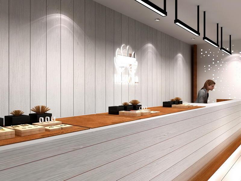 Mobile Shop Interior Design Ideas OY-MSD014