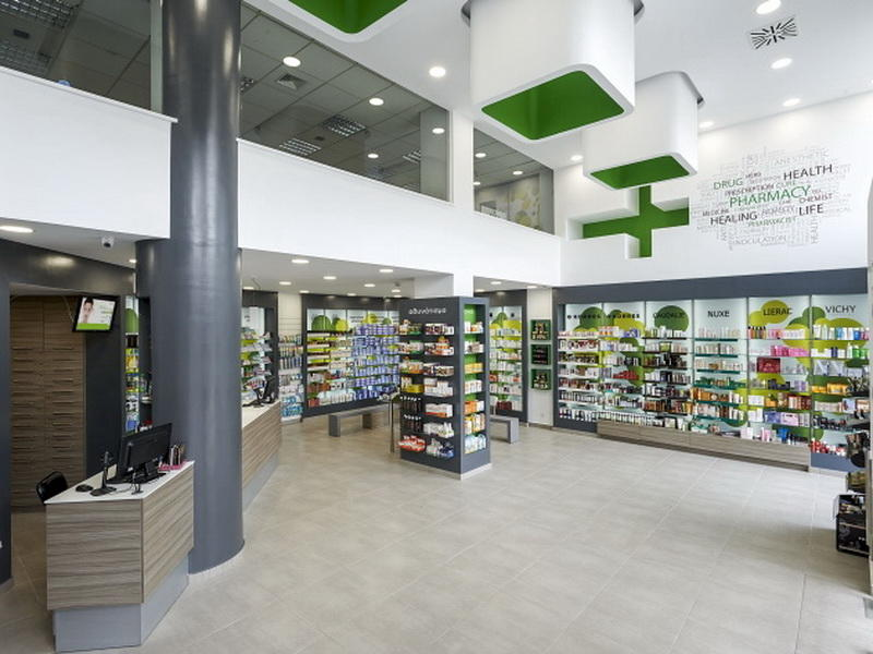 Medical Shop Interior Design OY-PSD002