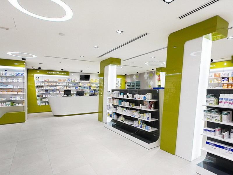 Pharmacy Interior Design OY-PSD003