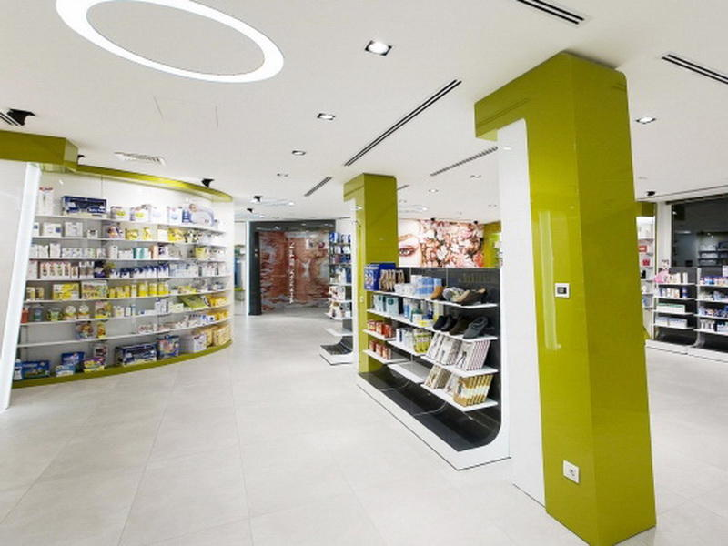 Pharmacy Interior Design OY-PSD003