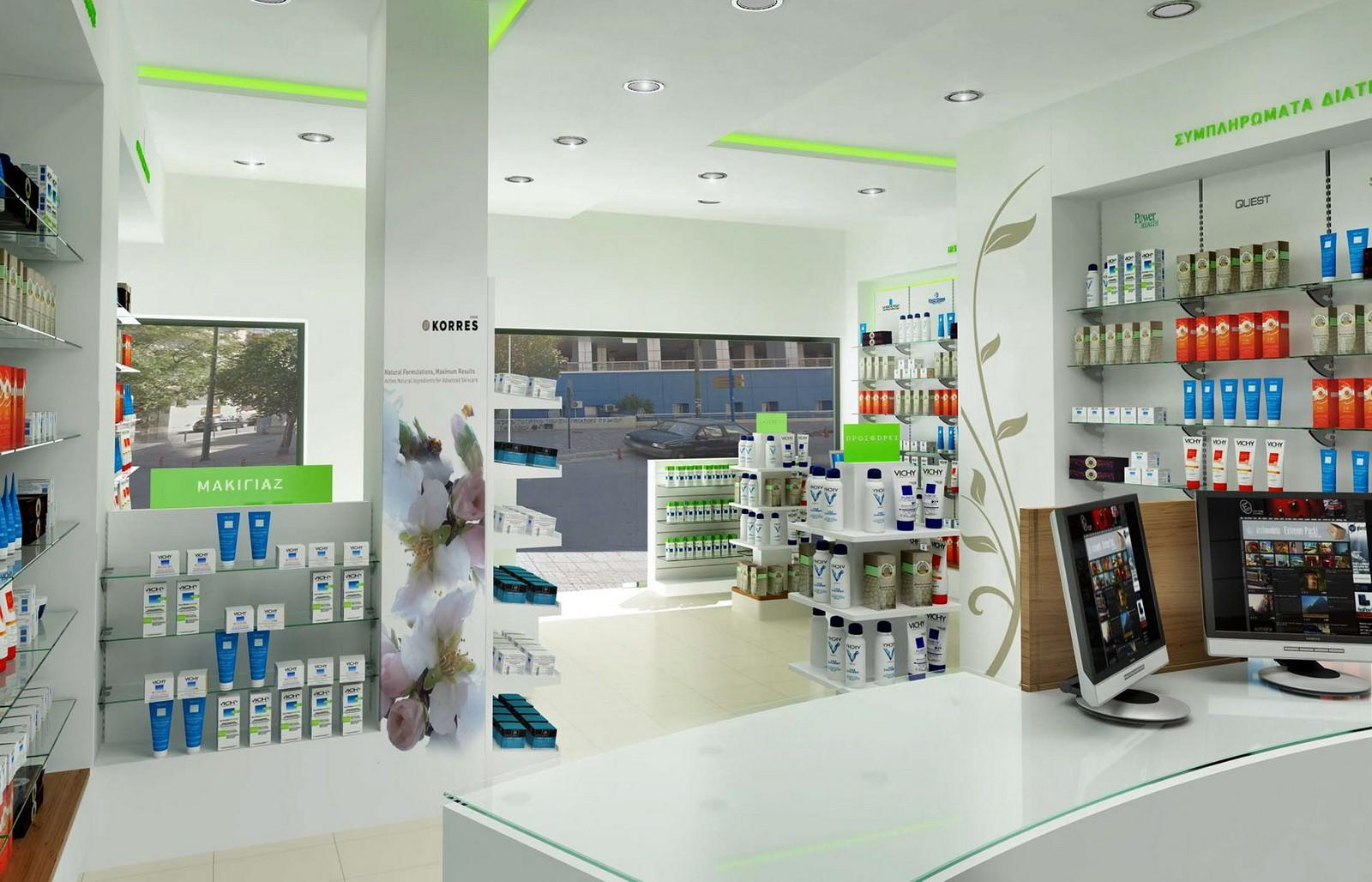 OUYEE top selling pharmacy shelving bulk production for shop