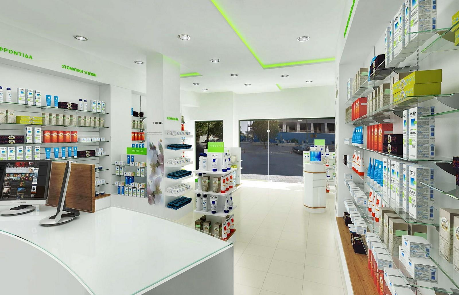 OUYEE Brand units pharmacy counter store factory