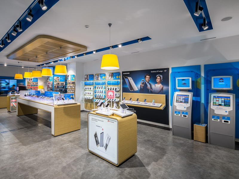 Cell Phone Store Fixtures Displays OY-MSD028