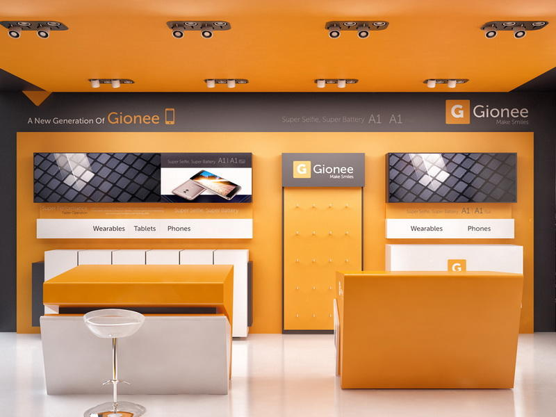 Mobile Phone Shop Display Furniture OY-MSD029