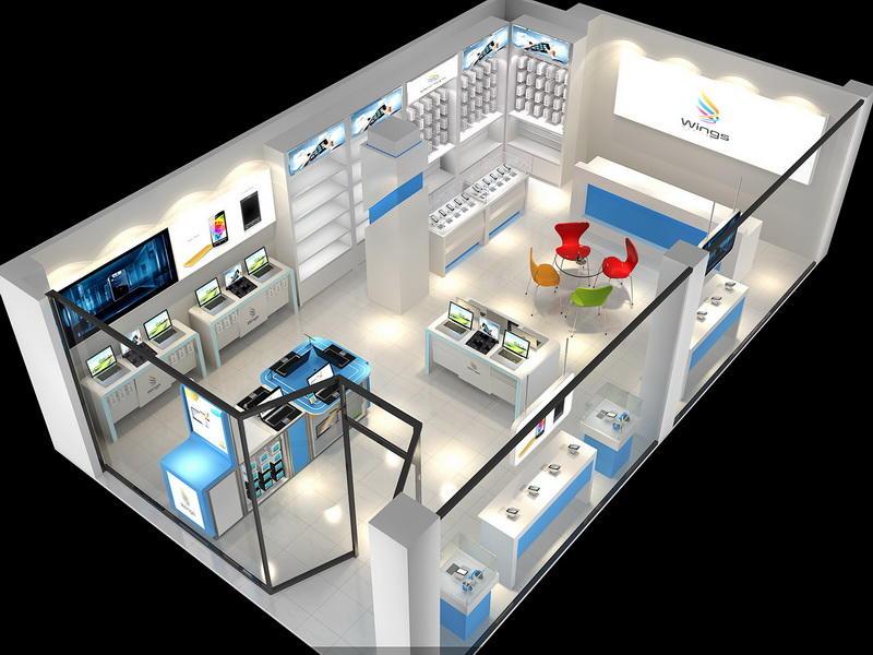 Mobile Display Showcase OY-MSD030