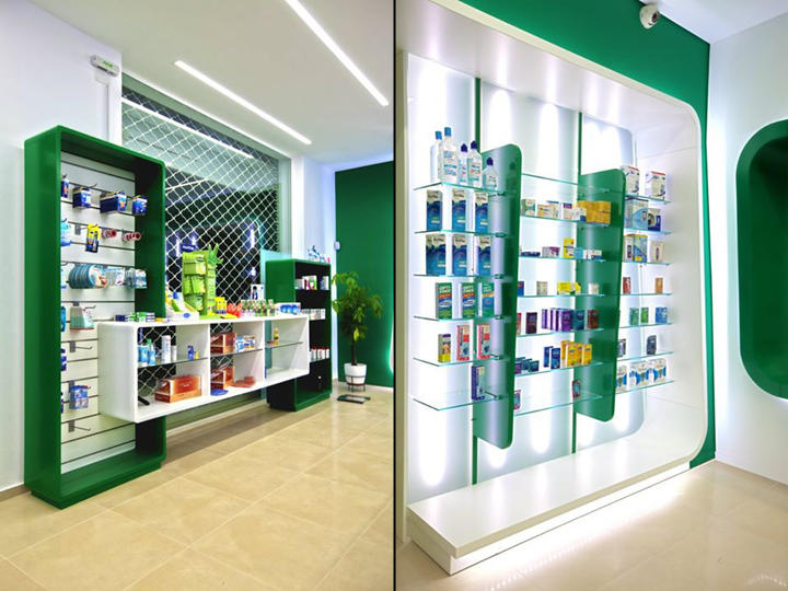 OUYEE top selling pharmacy interior free delivery for hospital