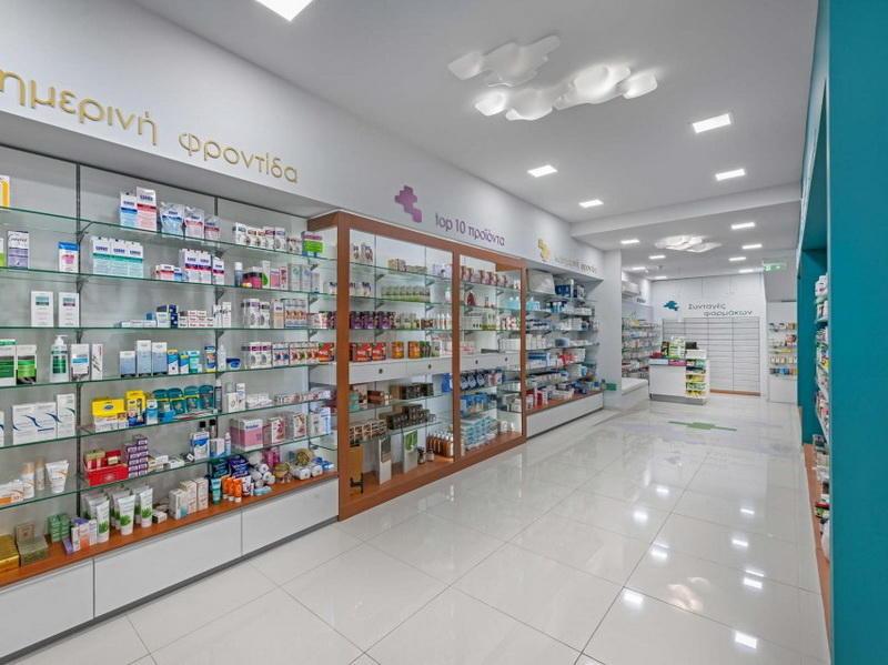 Small Pharmacy Interior Design OY-PSD010