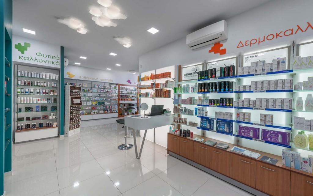 OUYEE Brand designs decoration pharmacy counter small factory
