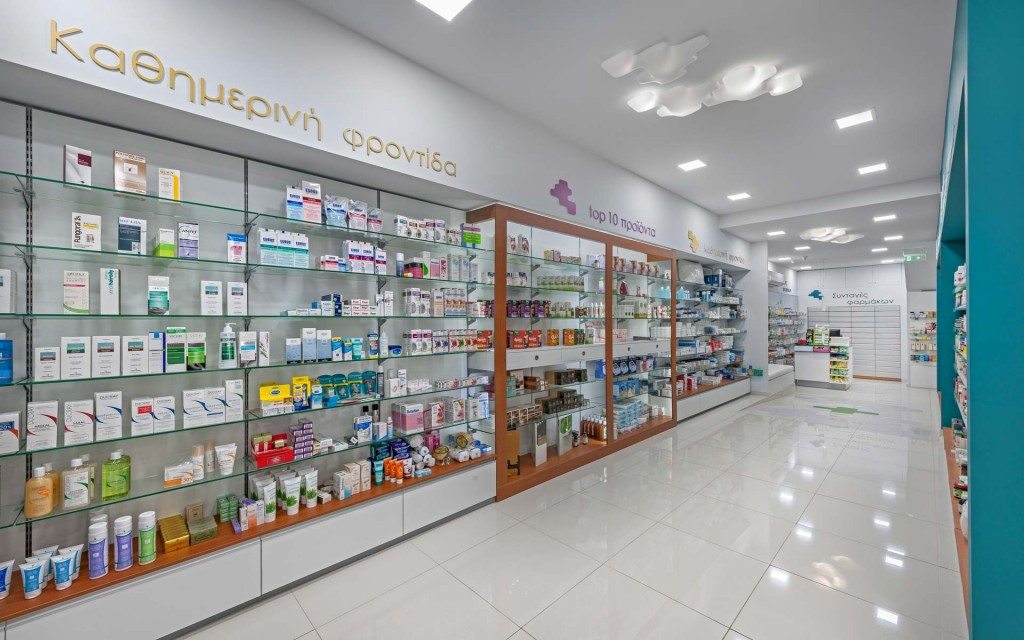 OUYEE durable medical store design fast installation for store-5