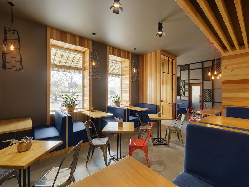 Modern Cafe Interior Design OY-CSD013