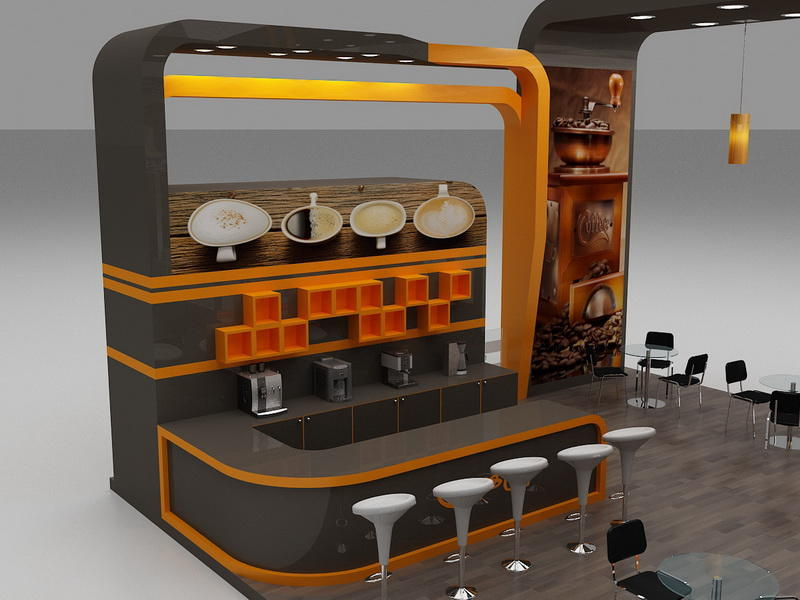 Coffee Station Furniture  OY-CSD015