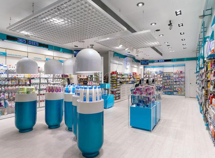 supplies Custom furniture pharmacy counter design OUYEE
