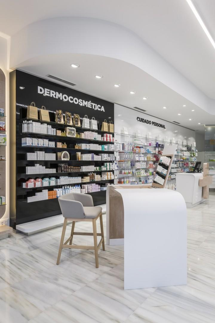 design interior OUYEE Brand pharmacy counter design factory