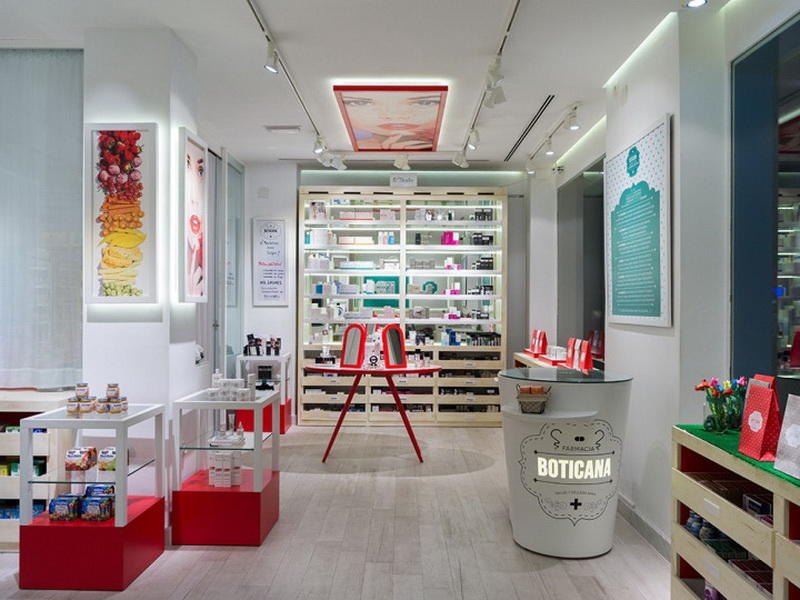 Pharmacy Shop Interior Design OY-PSD015