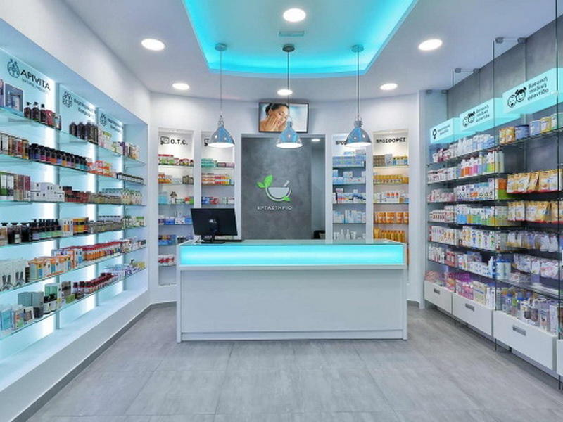 Pharmacy Drugstore Design OY-PSD016