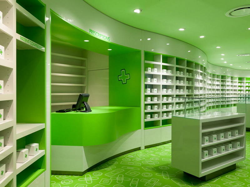 Custom Medical Shop Interior Design OY-PSD017