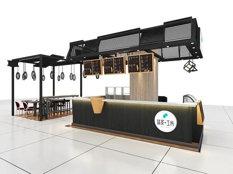 Cafe Counter Ideas OY-CSD018