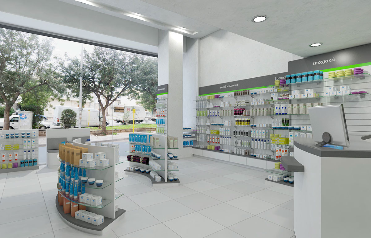 OUYEE modern medical shop counter fast delivery for shop-4