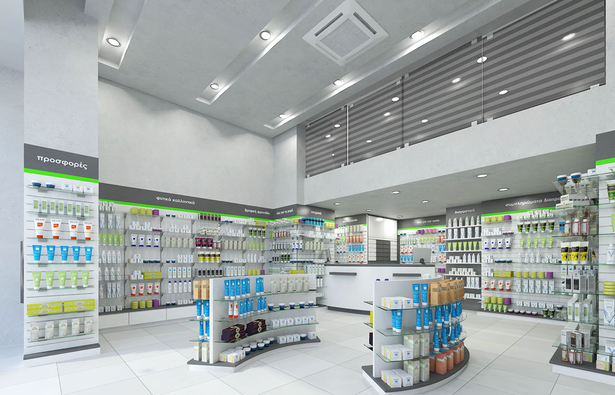 OUYEE modern medical shop counter fast delivery for shop-6