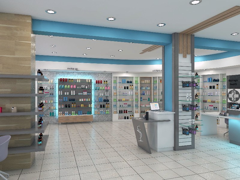 OUYEE durable retail pharmacy design modern for store-6