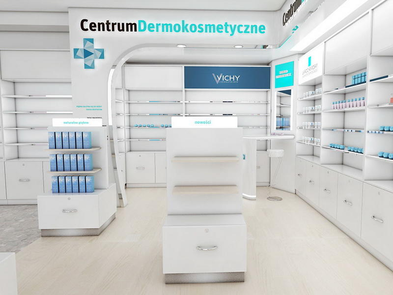 Factory Pharmacy Store Design OY-PSD028