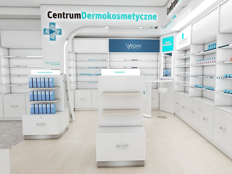 OUYEE top selling medical store design fast installation for hospital-6